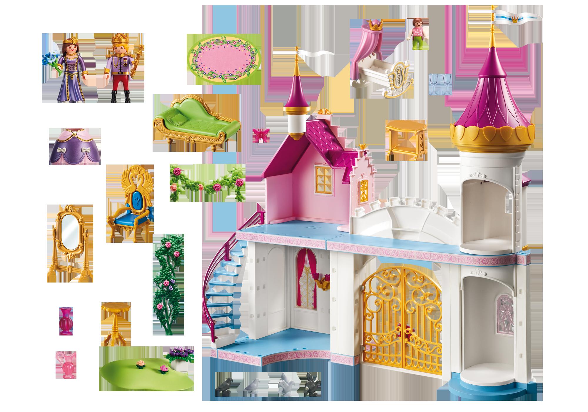 http://media.playmobil.com/i/playmobil/6849_product_box_back/Замок Принцессы: Королевская Резиденция