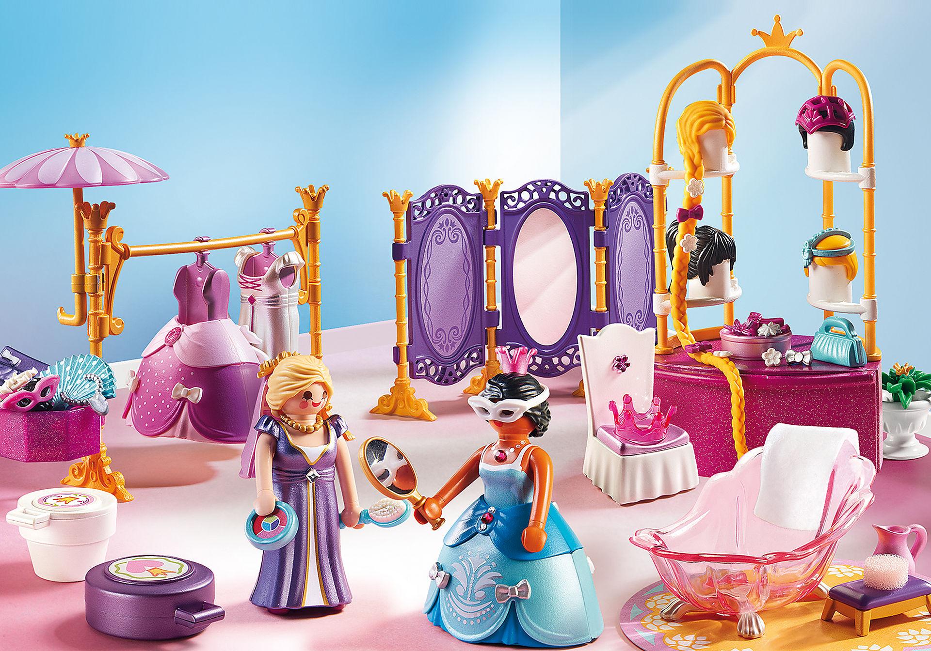 6850 Salon de beauté avec princesses zoom image1