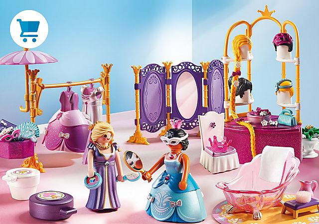 6850_product_detail/Salon de beauté avec princesses