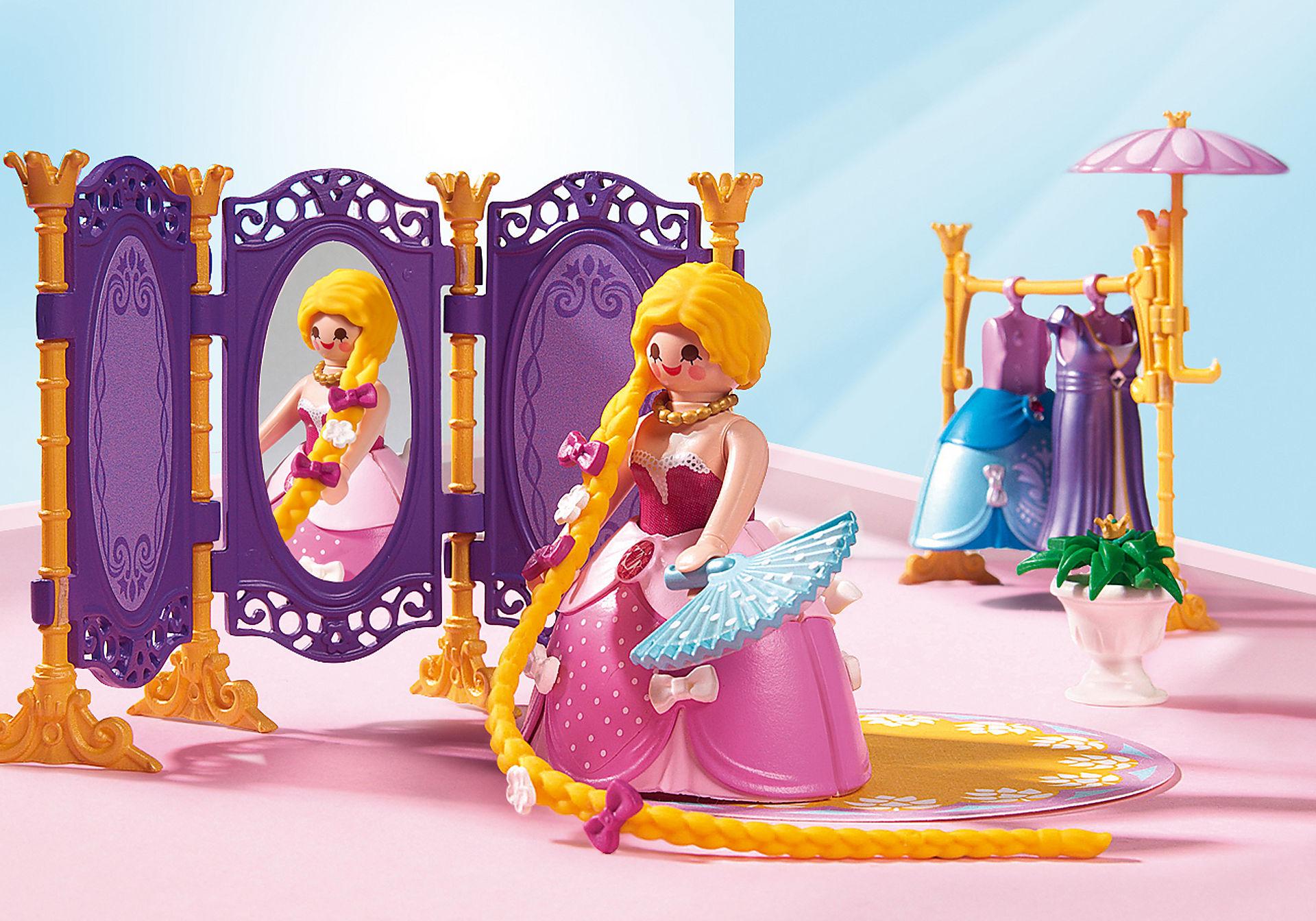http://media.playmobil.com/i/playmobil/6850_product_extra1/Замок Принцессы: Гардеробная с салоном
