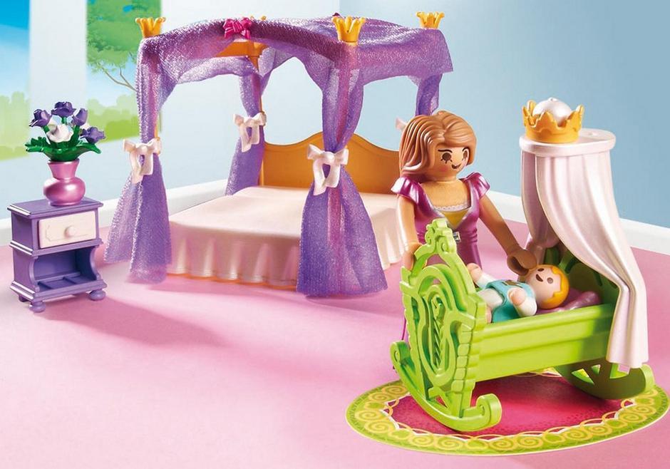Chambre de la reine avec lit à baldaquin - 6851 - PLAYMOBIL® France