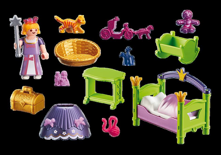 6852 Slaapkamer van de prinses detail image 4