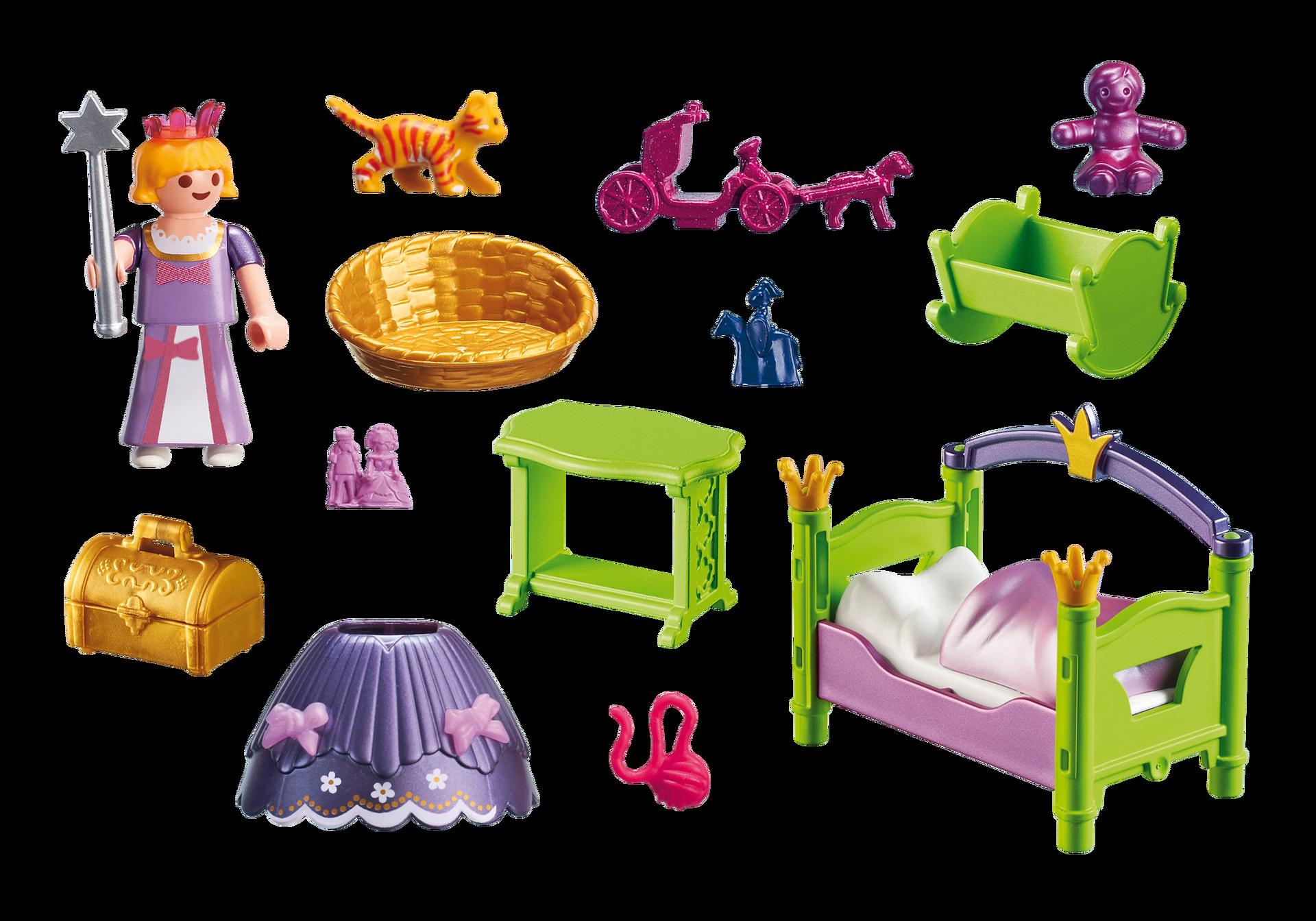 Prinzessinnen kinderzimmer 6852 playmobil deutschland for Kinderzimmer playmobil