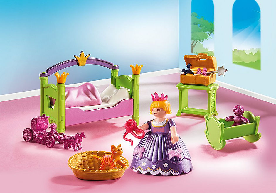 6852 Chambre de princesse detail image 1