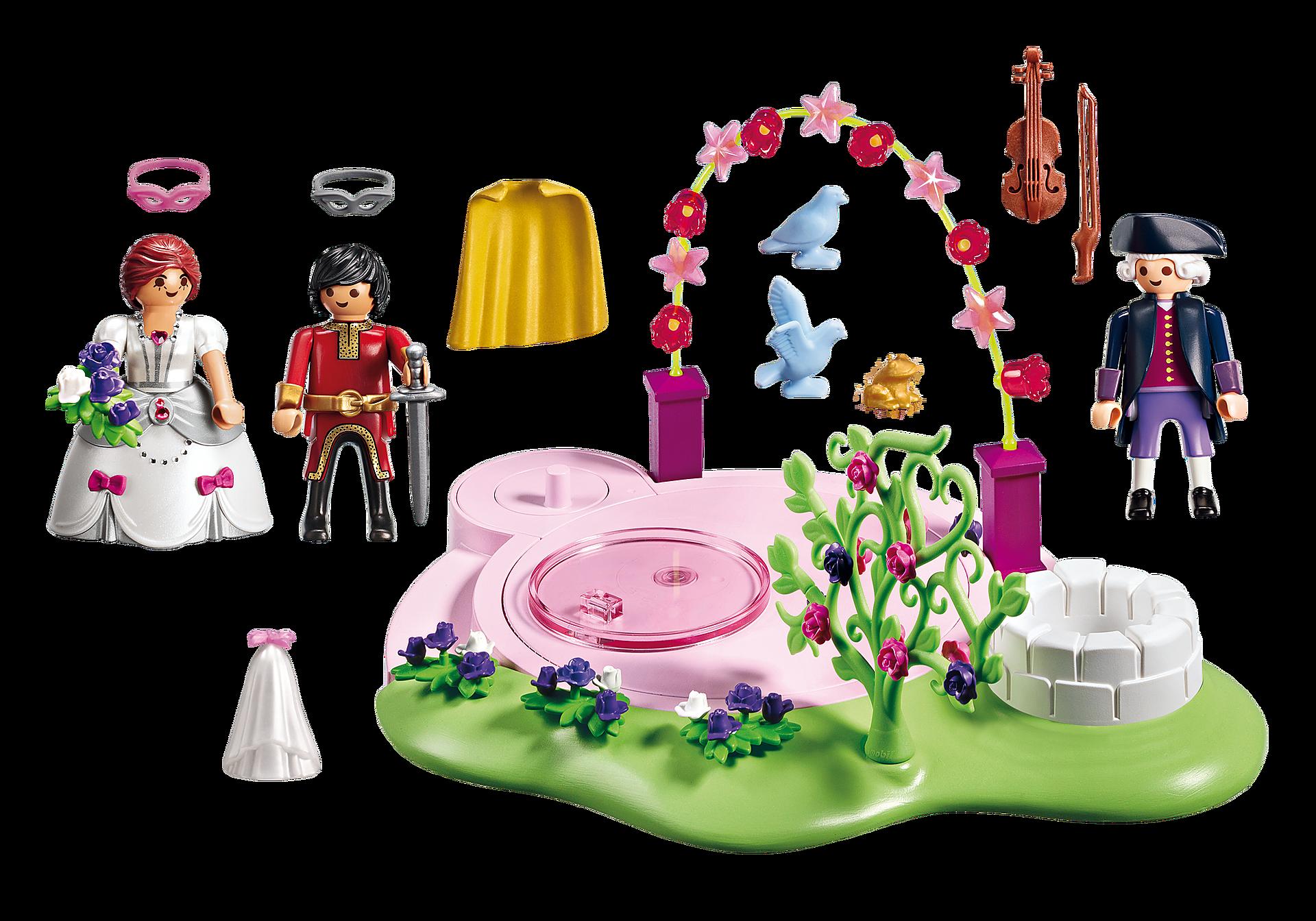 http://media.playmobil.com/i/playmobil/6853_product_box_back/Замок Принцессы: Маскарадный бал