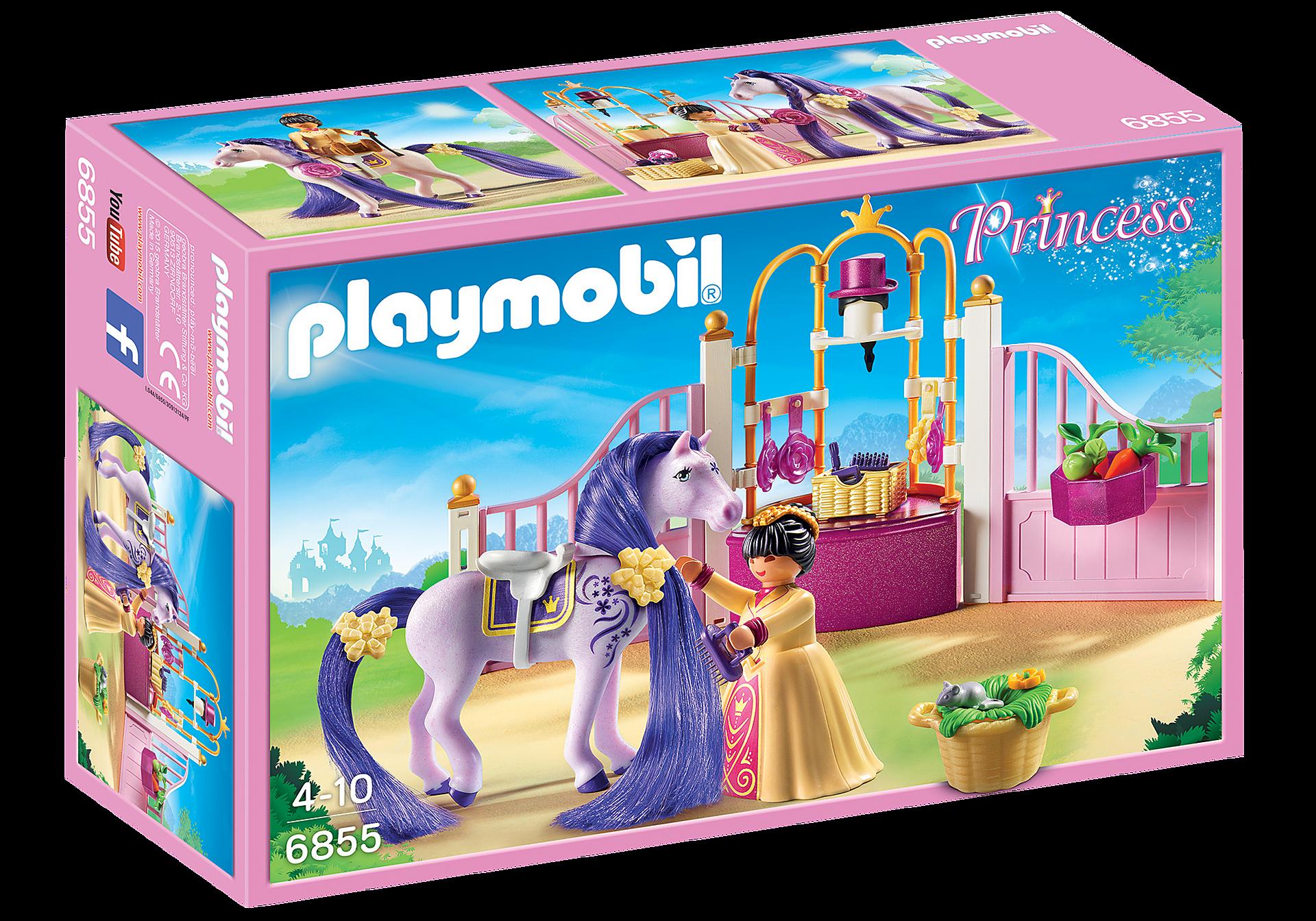 http://media.playmobil.com/i/playmobil/6855_product_box_front/Замок Принцессы: Королевская конюшня