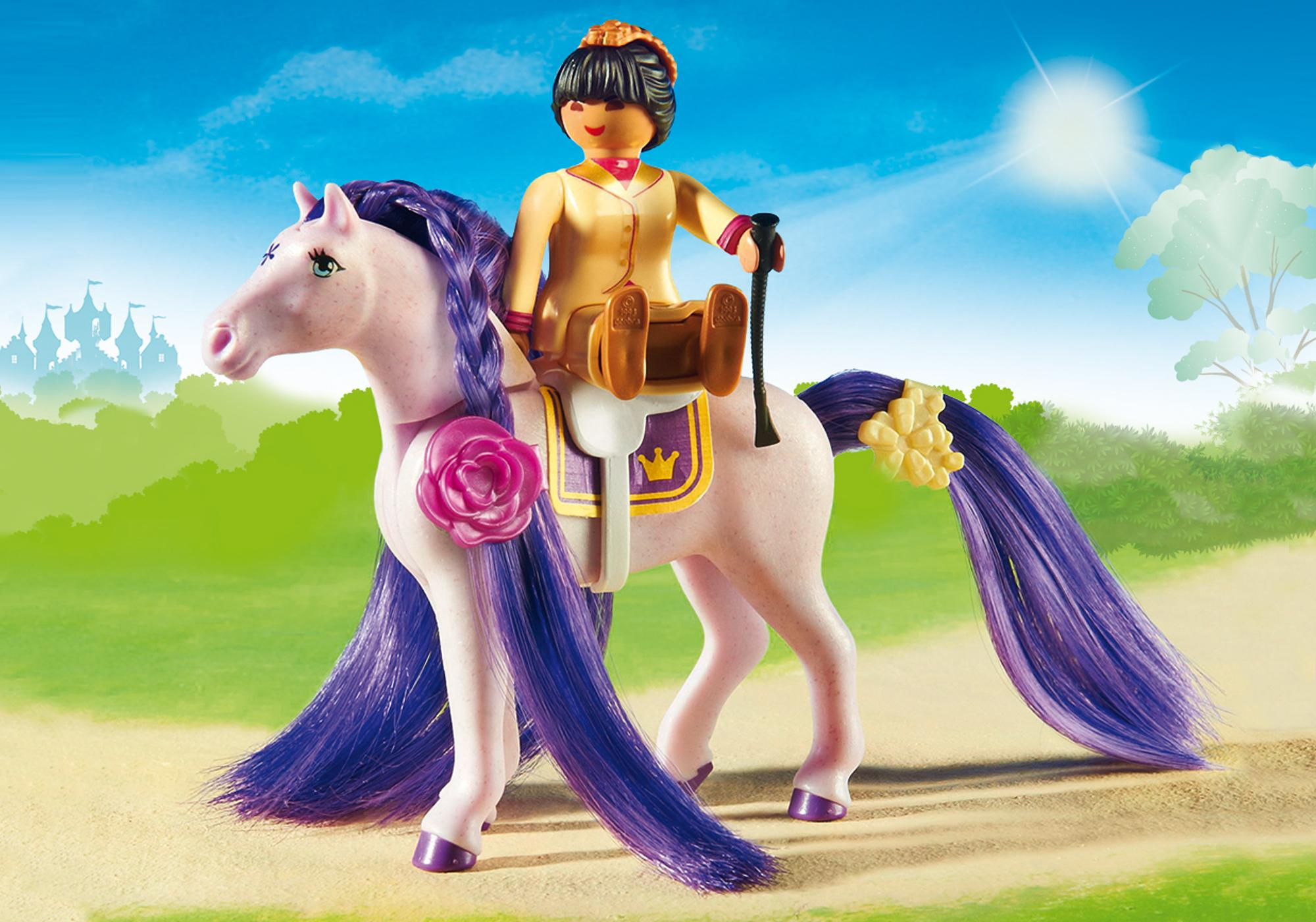 http://media.playmobil.com/i/playmobil/6855_product_extra1/Замок Принцессы: Королевская конюшня