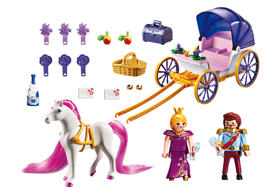 http://media.playmobil.com/i/playmobil/6856_product_box_back/Замок Принцессы: Королевская чета с каретой