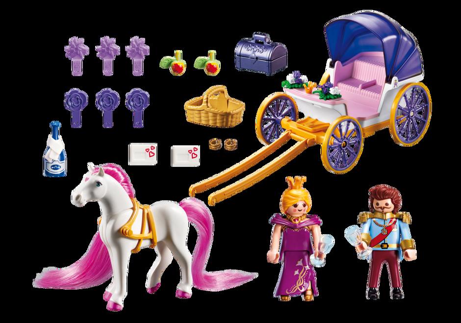 Calèche royale avec cheval à coiffer - 6856 - PLAYMOBIL® France