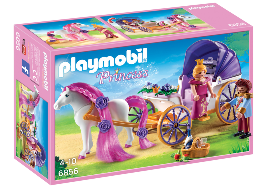K nigspaar mit pferdekutsche 6856 playmobil deutschland - Playmobil kutsche ...