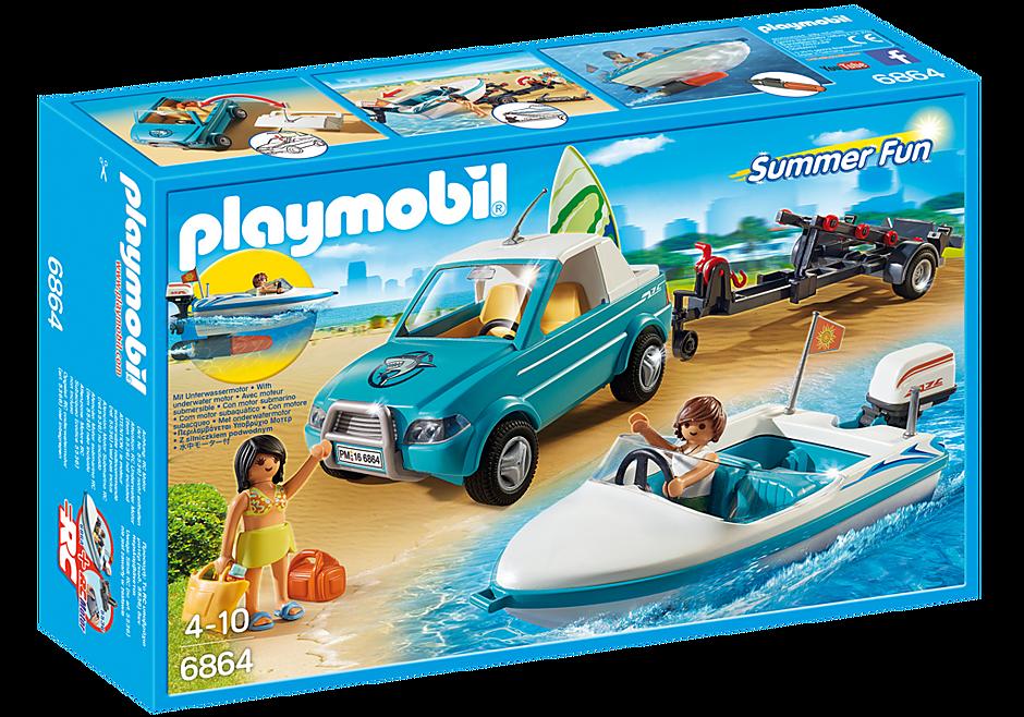 6864 Surfer-Pickup mit Speedboat  detail image 2