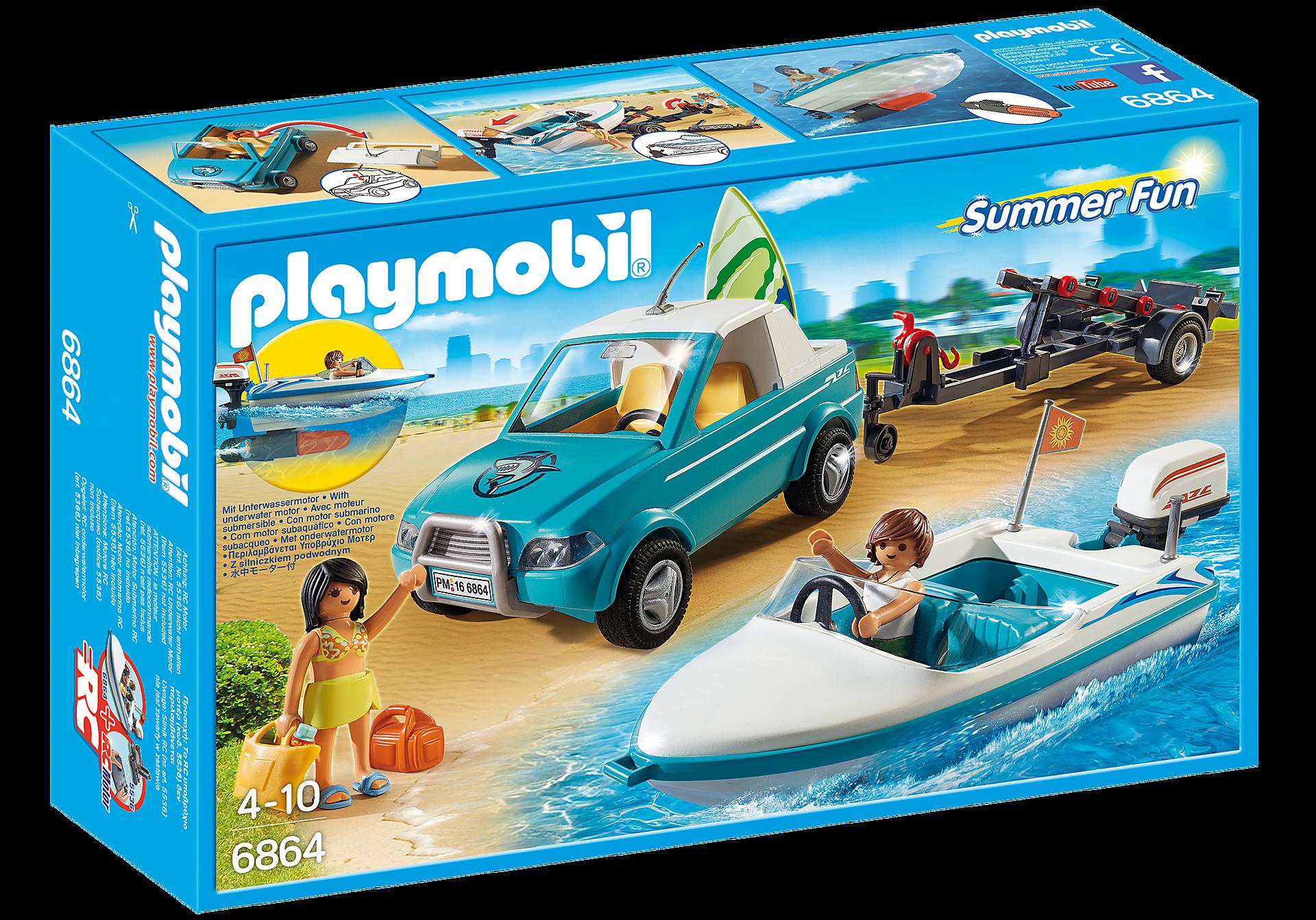 http://media.playmobil.com/i/playmobil/6864_product_box_front/Voiture  avec bateau et moteur submersible