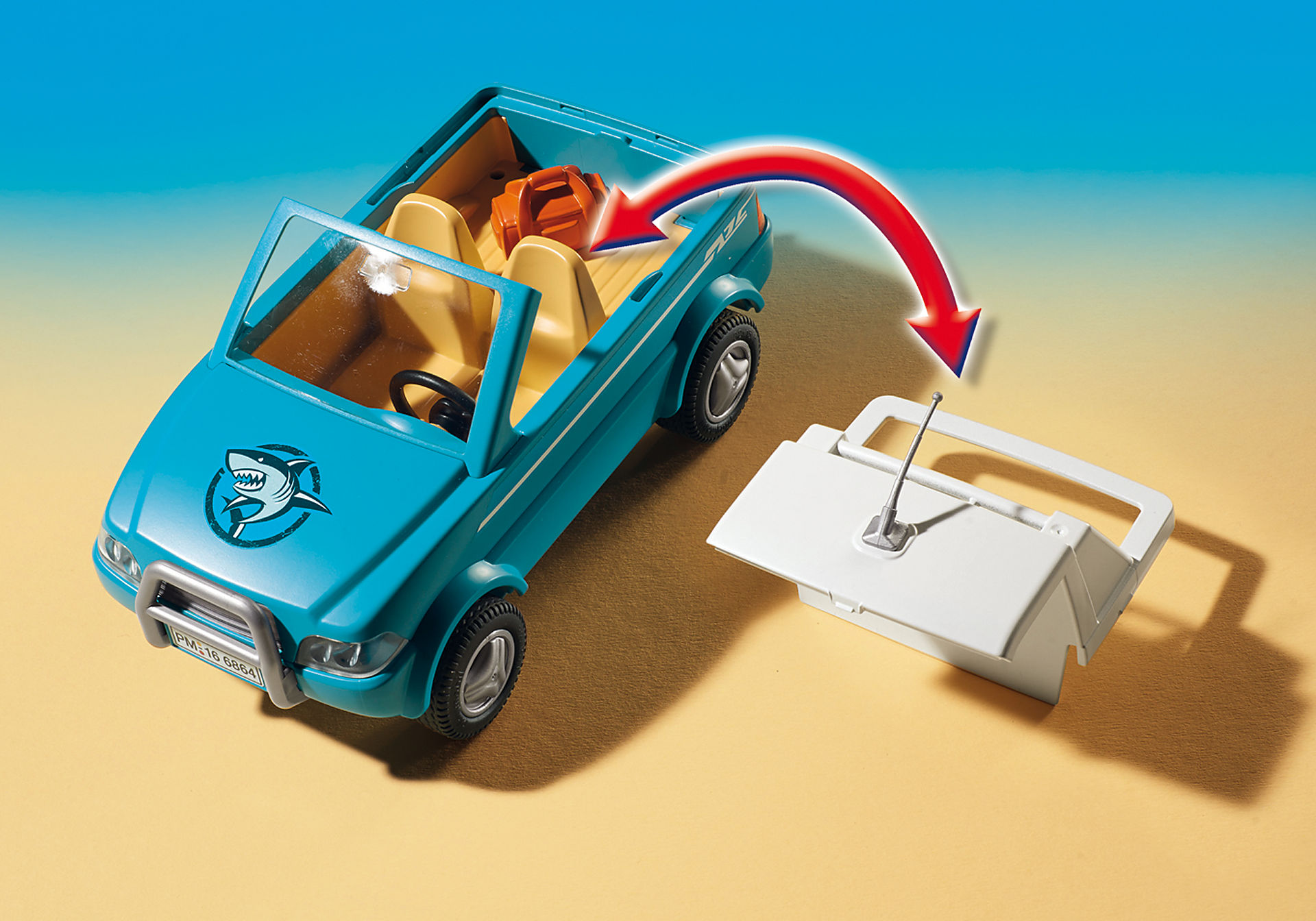 6864 Surfisti con pick up e motoscafo zoom image4