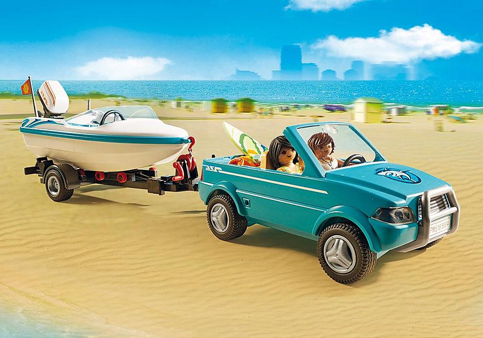 6864 Surfisti con pick up e motoscafo detail image 7
