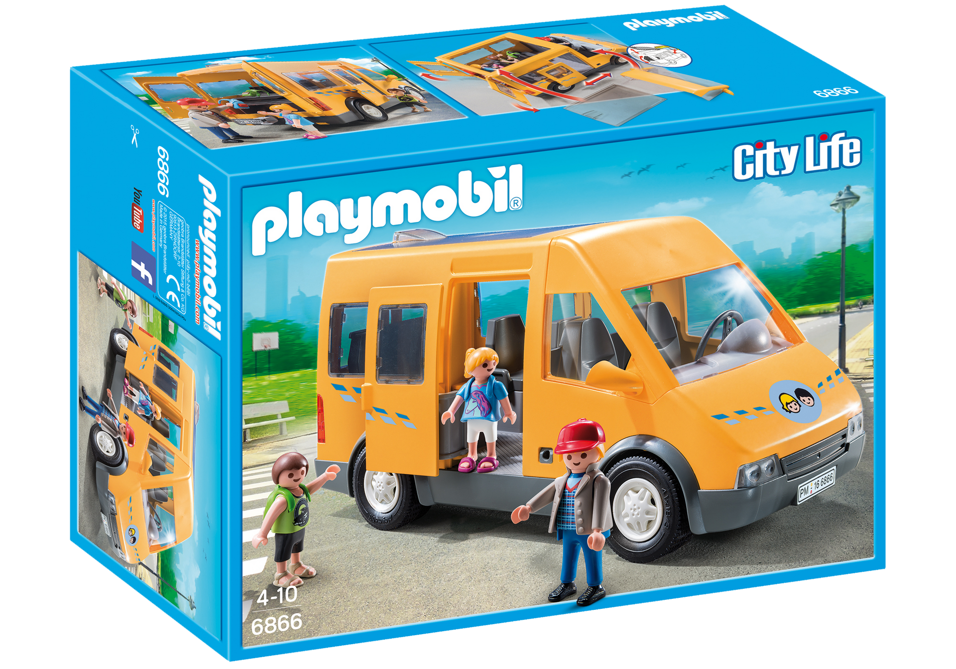 bus scolaire 6866 playmobil france. Black Bedroom Furniture Sets. Home Design Ideas