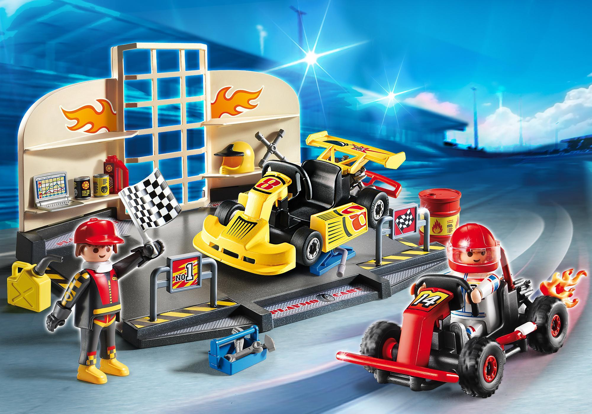 http://media.playmobil.com/i/playmobil/6869_product_detail/StarterSet Taller de Karts