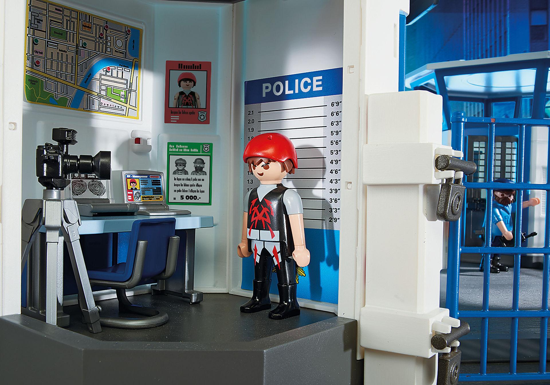 6872 Polizei-Kommandozentrale mit Gefängnis zoom image5