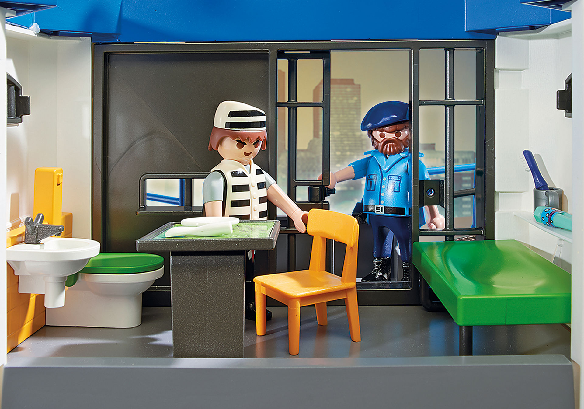 6872 Polizei-Kommandozentrale mit Gefängnis zoom image6