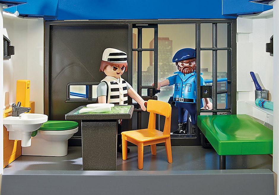 6872 Polizei-Kommandozentrale mit Gefängnis detail image 6