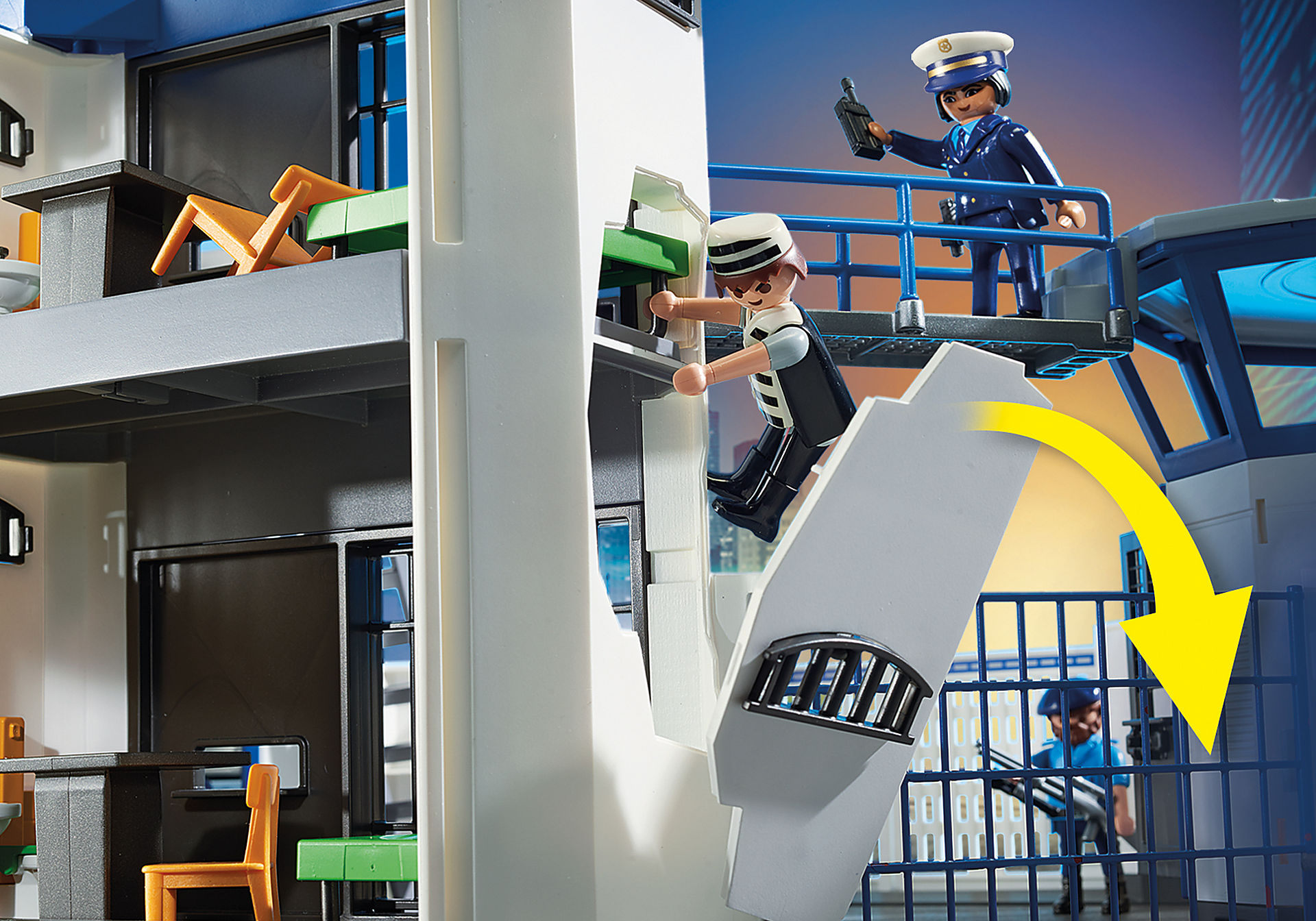 http://media.playmobil.com/i/playmobil/6872_product_extra3/Polizei-Kommandozentrale mit Gefängnis