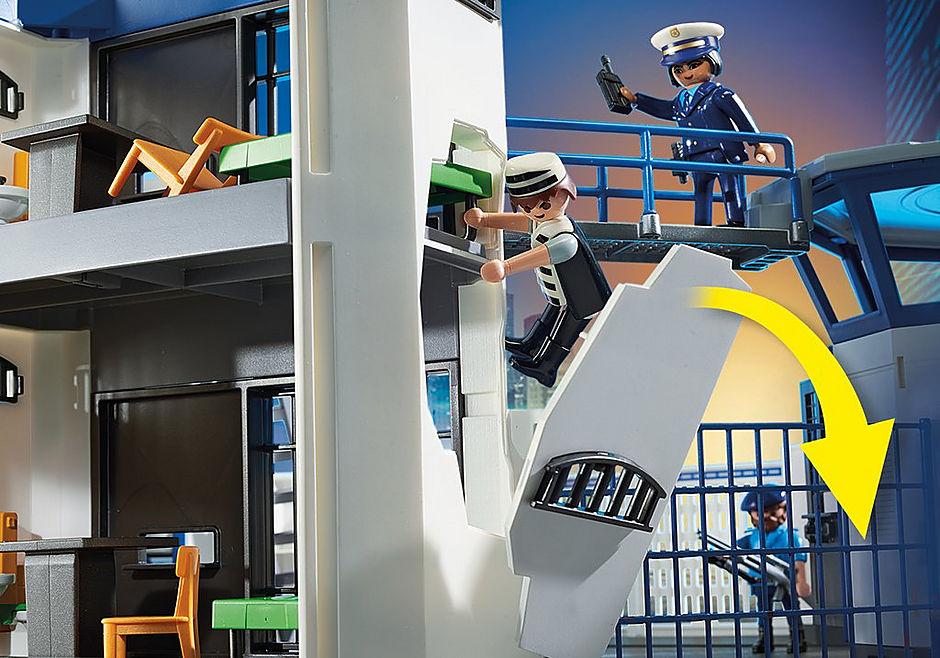 6872 Polizei-Kommandozentrale mit Gefängnis detail image 7