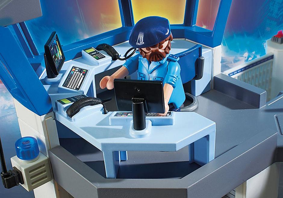 6872 Polizei-Kommandozentrale mit Gefängnis detail image 8