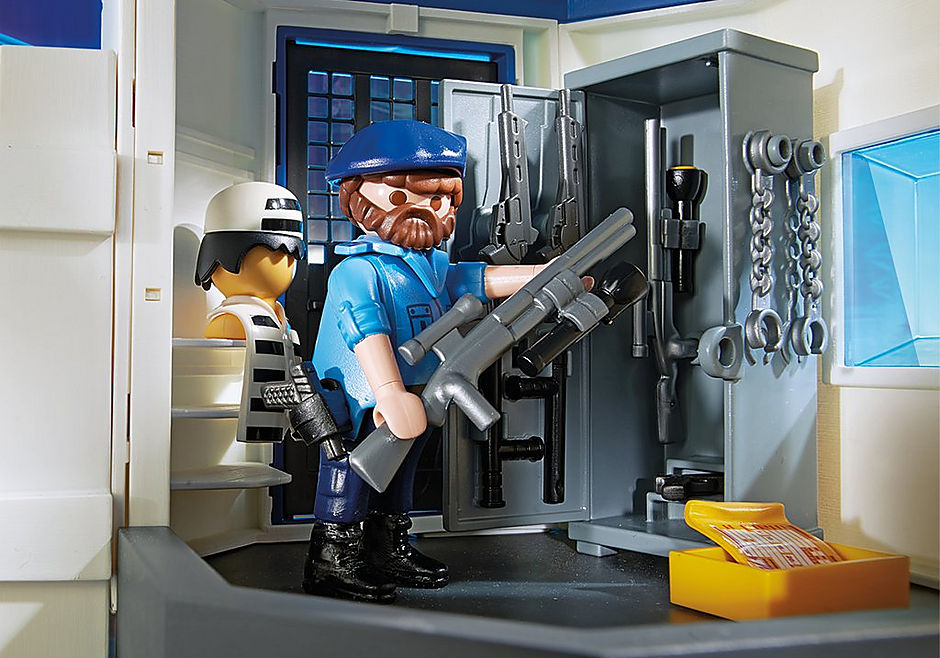 6872 Polizei-Kommandozentrale mit Gefängnis detail image 9