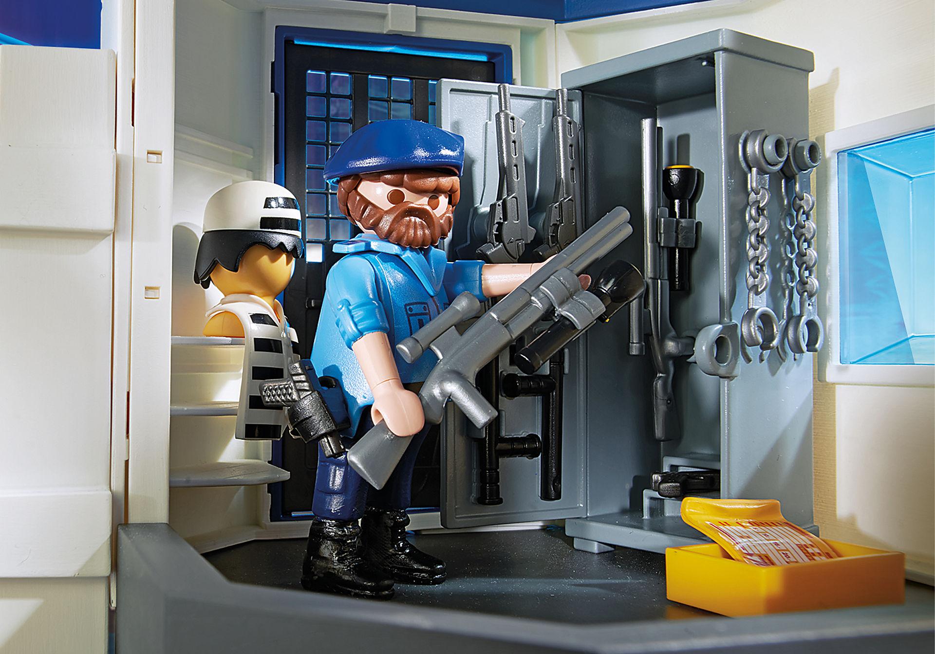 6872 Polizei-Kommandozentrale mit Gefängnis zoom image9