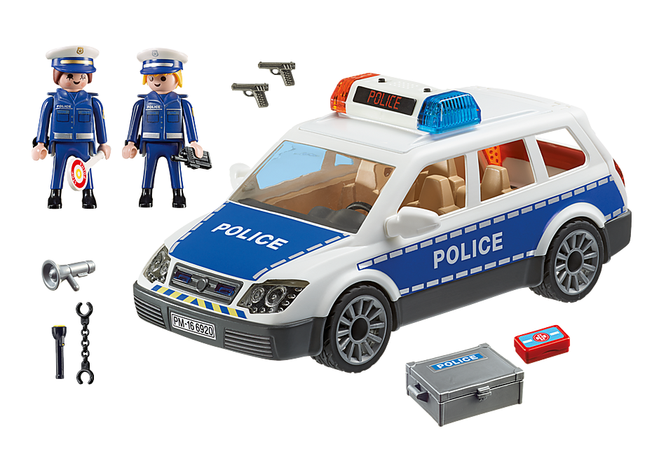 6873 Polizei-Einsatzwagen detail image 4