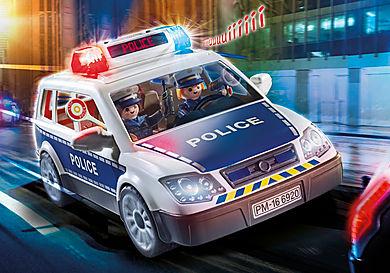 6873 Coche Policía con Luces y Sonido
