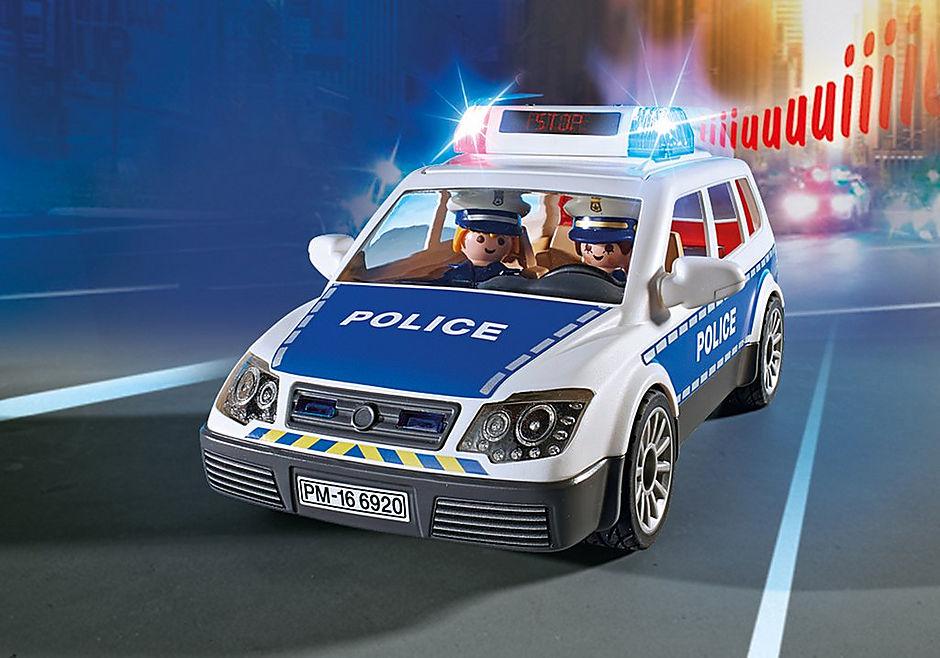 6873 Polizei-Einsatzwagen detail image 6