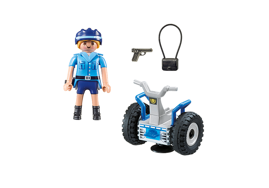 6877 Policía con Balance Racer detail image 4
