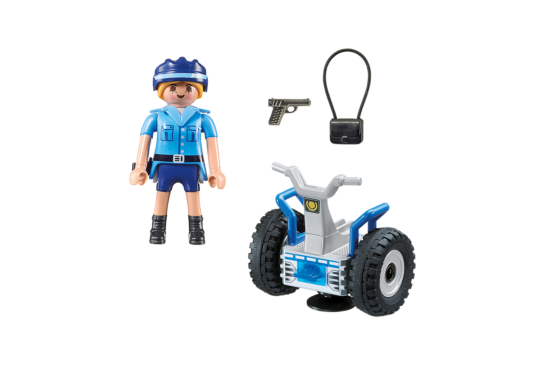 6877 Policía con Balance Racer zoom image4