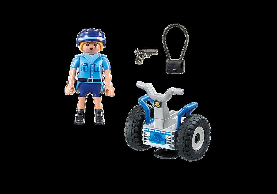 6877 Polizistin mit Balance-Racer detail image 4