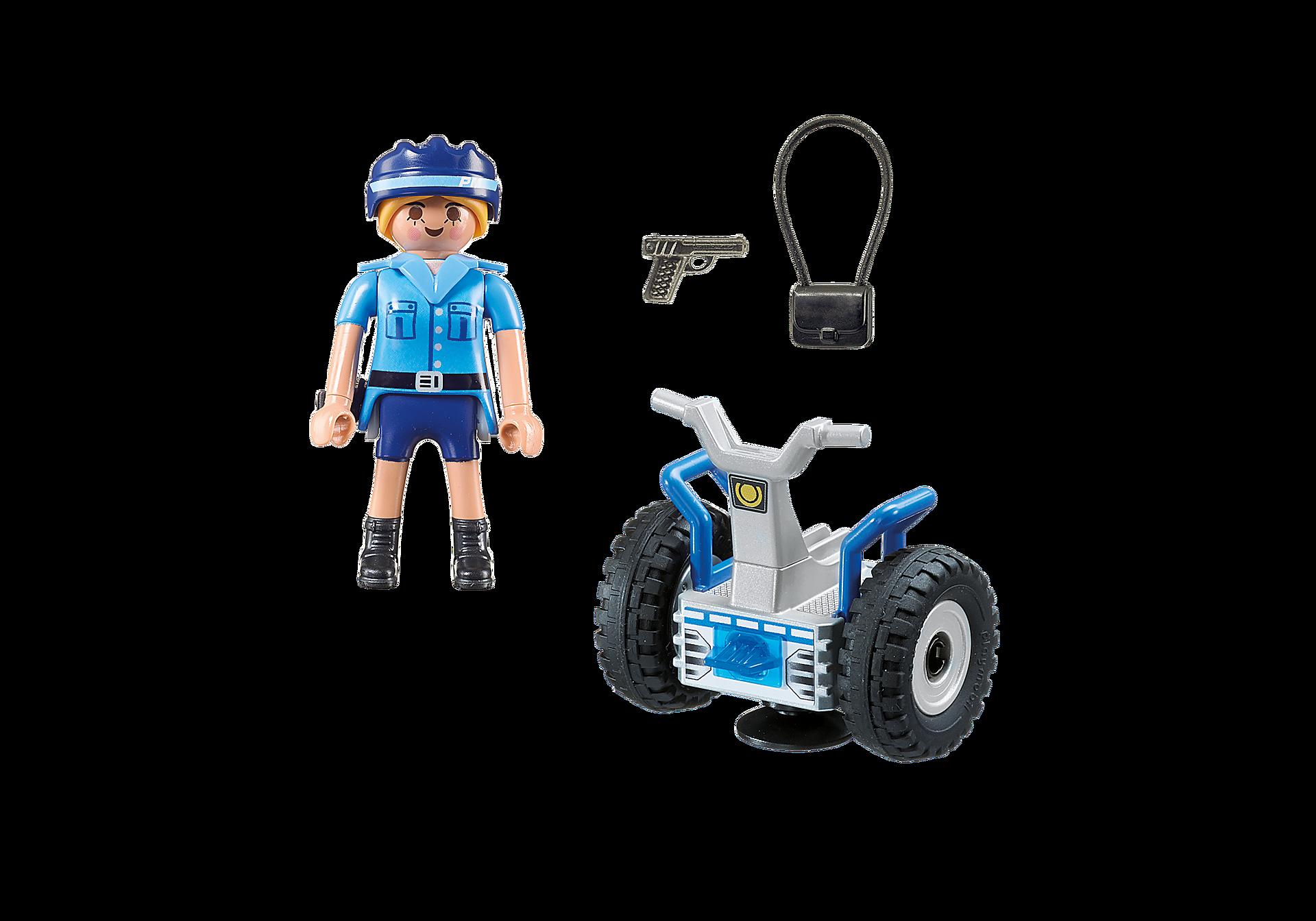 6877 Polizistin mit Balance-Racer zoom image4