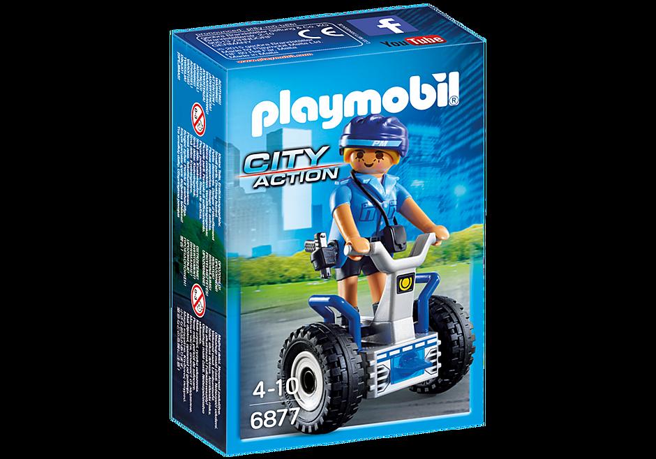 6877 Policière avec gyropode  detail image 3