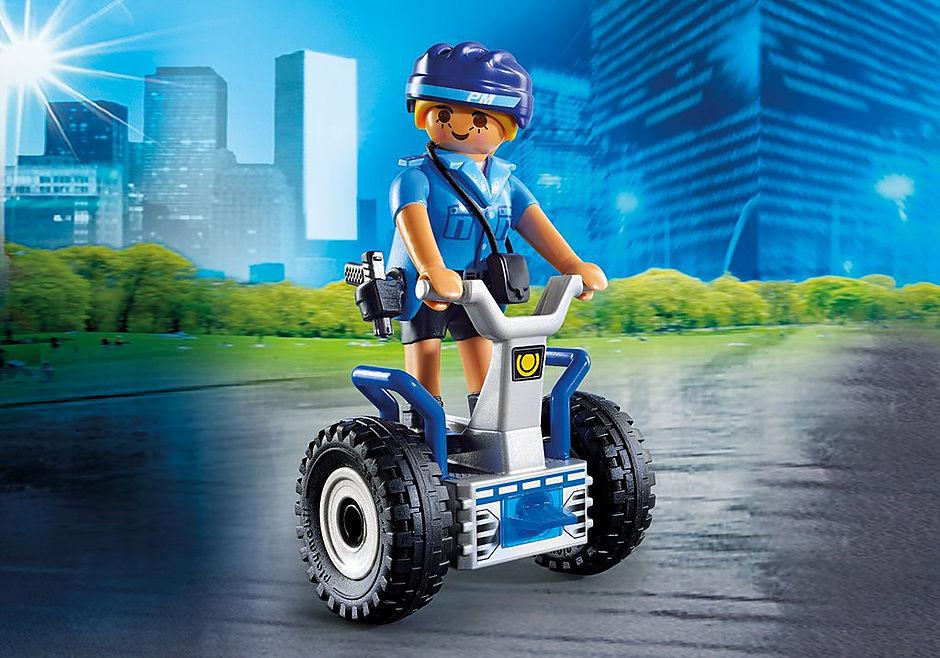 6877 Polizistin mit Balance-Racer detail image 1
