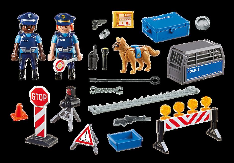 6878 Polizei-Straßensperre detail image 4