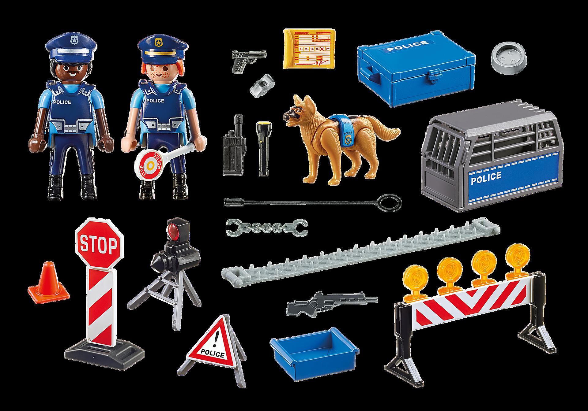 6878 Polizei-Straßensperre zoom image5