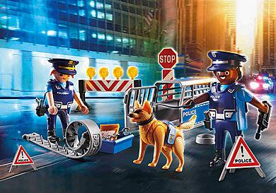 6878 Police Roadblock