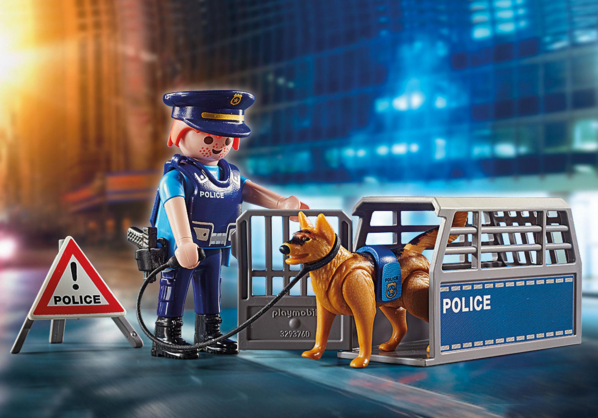 polizeistraßensperre  6878  playmobil® deutschland