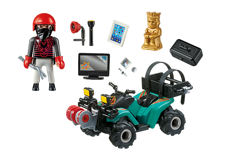 http://media.playmobil.com/i/playmobil/6879_product_box_back/Ladrón con Quad y Botín