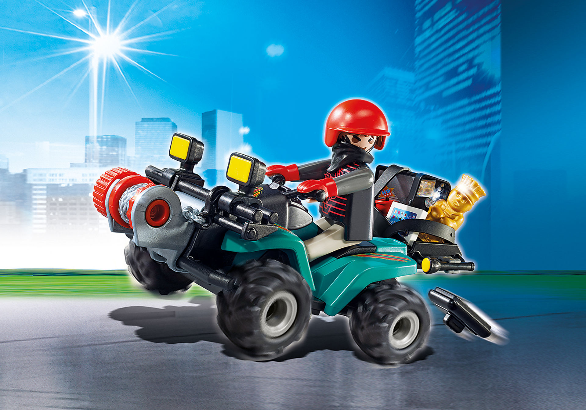http://media.playmobil.com/i/playmobil/6879_product_detail/Ladrón con Quad y Botín