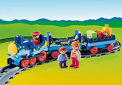 6880 1.2.3 Comboio com linha férrea