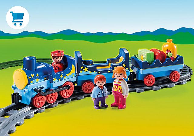 6880_product_detail/Train étoilé avec passagers et rails