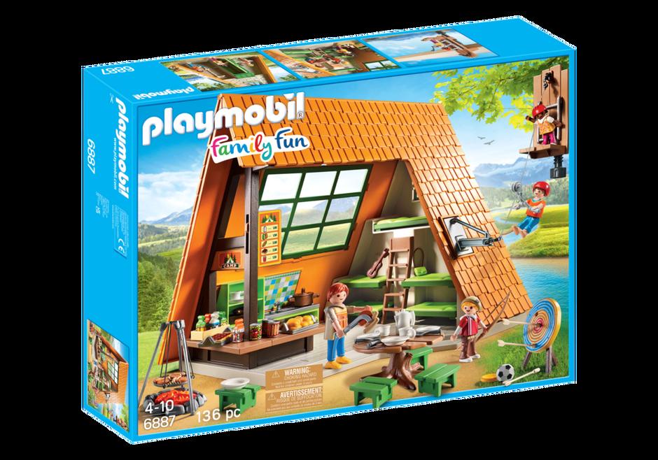 Grote vakantiebungalow 6887 playmobil nederland for Playmobil maison moderne prix
