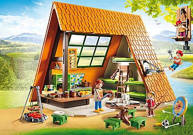 6887 Cabaña de Campamento
