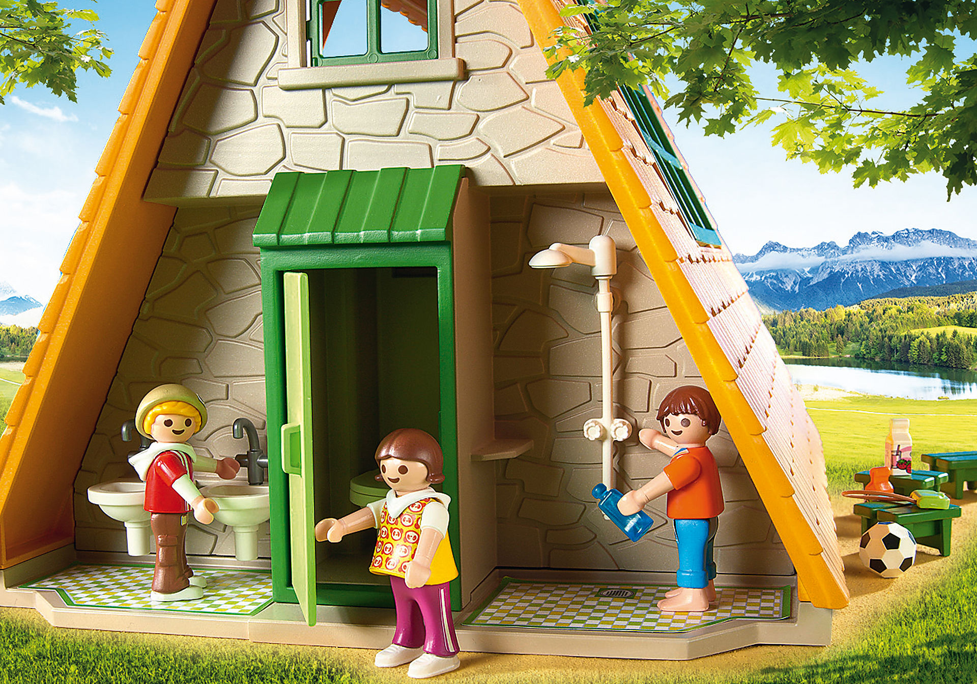http://media.playmobil.com/i/playmobil/6887_product_extra3/Casa vacanze con area giochi e tavoli da pic-nic