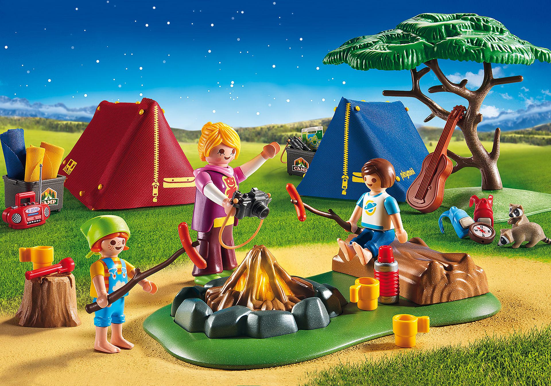 6888 Acampamento de Verão com Fogueira LED zoom image1
