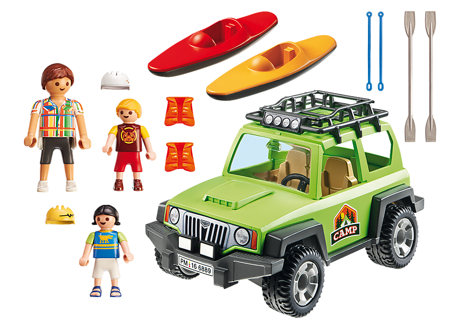 6889 Familjeterrängbil med kajaker detail image 4